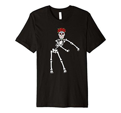 (Skeleton Day Of The Dead Halloween Dia de los Muertos)