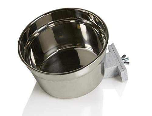 Lixit Stainless Steel Crock, - Steel Stainless Waterer Lixit