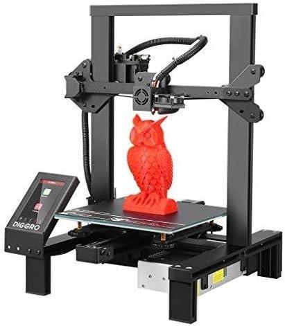 Impresora 3D de Alta precisión, DIGGRO Alfa-3 Impresora 3D con 4,3 ...