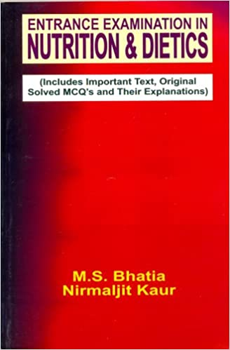 Buy Entrance Examination in Nutrition and Dietics (Includes