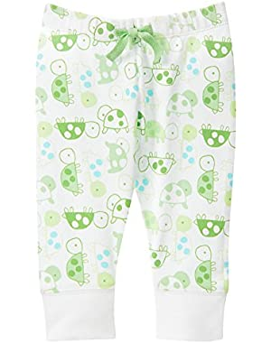 Baby Boy Turtle Print Pull-On Pants