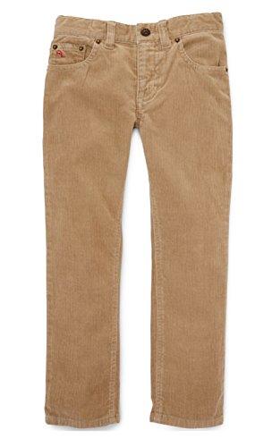 Pants Corduroy Wale 14 (Ralph Lauren Little Boys' 14-Wale Corduroy Pants Burmese Tan (5))
