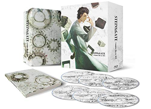 STEINS;GATE Complete Blu-ray DVD Box Set (Limited Edition)
