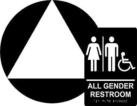 Amazon.com: Juego de carteles de baño para todas las mujeres ...