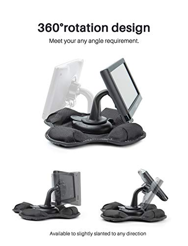 Bestand GPS Dashboard Mount, Portable Friction Mount for Garmin 700/600/300/200 Series and for New Nuvi Series