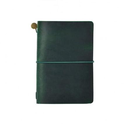 BJBCH Notas De Campo Cubierta Del Diario Cuaderno De Cuero ...