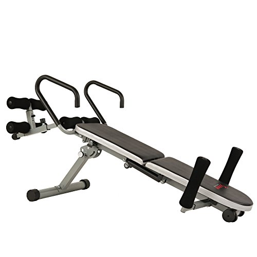 Sunny Health U0026 Fitness Invert Extend N Go Back Stretcher Bench For Back  Pain Relief,