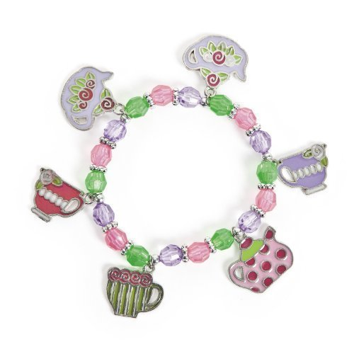 Tea Party Charm Bracelets (1 dz)