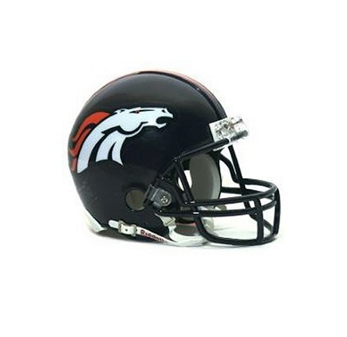 NFL Denver Broncos Replica Mini Football Helmet