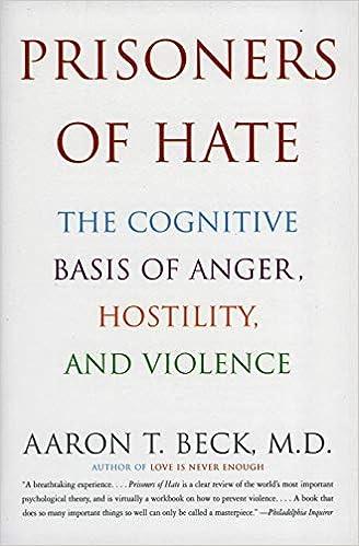 Prisoners of Hate: The Cognitive Basis of Anger, Hostility