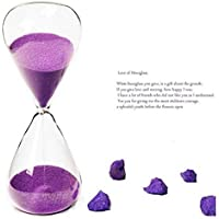 Rosepoem Sand Timer Colorful Sandglass Tooth Brushing 10