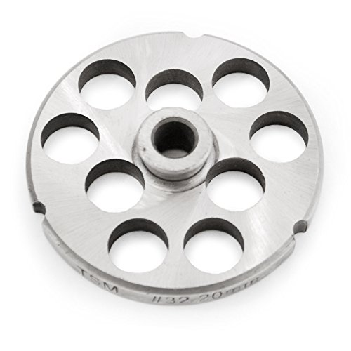 - TSM #32 Stainless Steel Grinder Plate with Hub (3/4