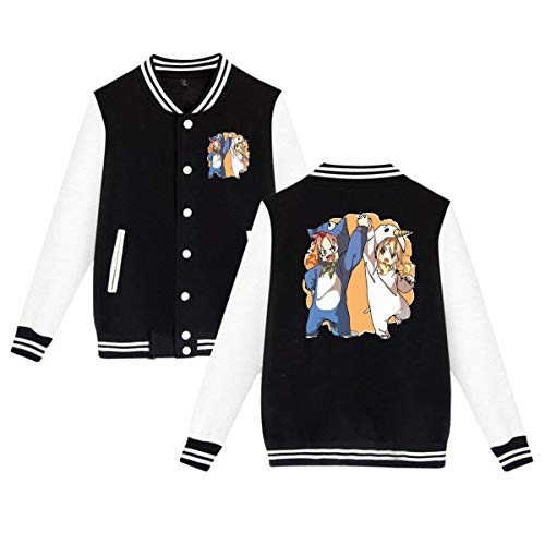 Mens Natsu and Lucy Fairy Tail Funny Anime Jacket Black]()