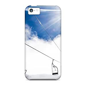 Iphone 5c OBN10751kCgS Mountain Ropeway Ski Resort Cases Covers. Fits Iphone 5c
