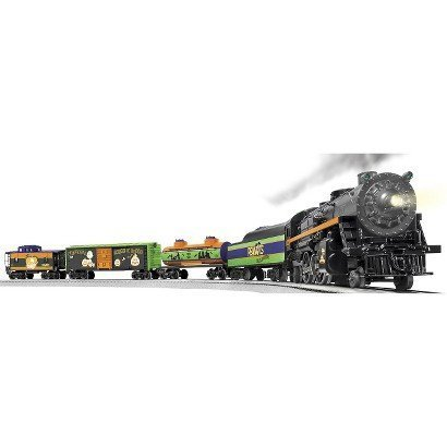Lionel Trains Peanuts Halloween LionChief Ready to Run Set - toys - children game - playing - high speed trains Sound Effects - indoor/outdoor - Designable and stylish.