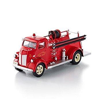 Hallmark Keepsake Ornament 1941 Ford Fire Engine Fire Brigade 11th in Series - Fire Engine Ornament
