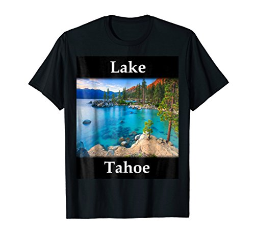 Lake Outlet (Yellow House Outlet: Lake Tahoe T-Shirt)
