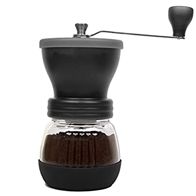 DuraCasa Manual Coffee Grinder - High Quality Burr Coffee Grinder - Coffee Maker With Grinder For Espresso - Roasted Coffee Bean Grinder - Burr Grinder Coffee Mill - Best Manual Coffee Grinder Period! from DuraCasa