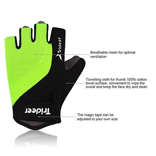 Trideer-UltraLight-Cycling-Gloves-Half-Finger--Breathable-Lycra-Anti-Slip-Shock-Absorbing-Silica-Gel-Grip-Mountain-Road-Bike-Gloves-MenWomen