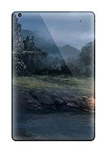 Anti-scratch And Shatterproof Landscape Phone Case For Ipad Mini/mini 2/ High Quality Tpu Case