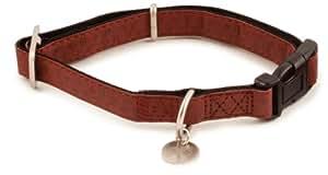 PetSafe Bark Avenue Quick Snap Dog Collar, Small, 3/4-Inch, Cranberry