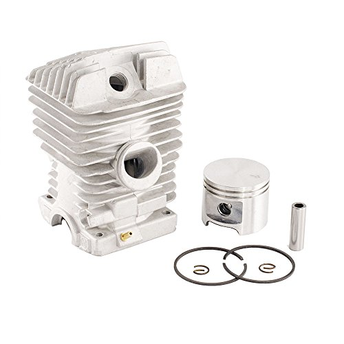 Cylinder M6 Assembly (Max Motosports Cylinder Piston Rebuild Kit Assembly for Stihl 029 MS290 039 MS390 46mm)