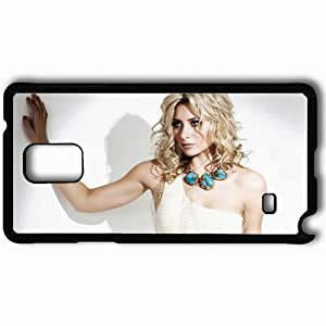taoyix diy Personalized Samsung Note 4 Cell phone Case/Cover Skin Aly Michalka Black