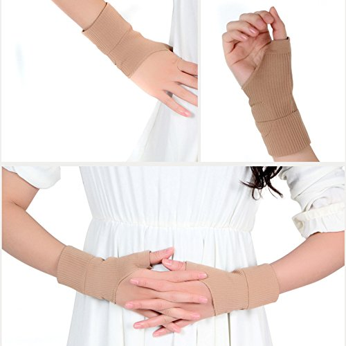 Carejoy Therapy Gloves, Arthritis Hand Wrist Support Arthritis Compression(1 Pair) by Carejoy
