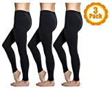 Love Charm Women's Super Soft Full Length Legging-Seamless Technology (3, L/XL)