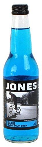 Bubble Gum Canes (Jones Soda Bubblegum Cane Sugar Soda, Blue by Jones Soda)