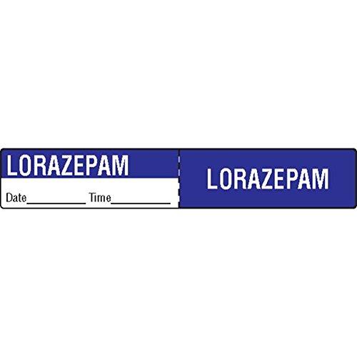 Medication Labels Tubing Iv (IV Tubing Medication Label Lorazepam)