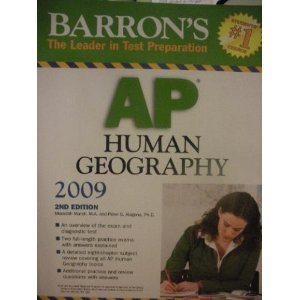 Barron's AP Human Geography 2nd (second) Edition byMarsh
