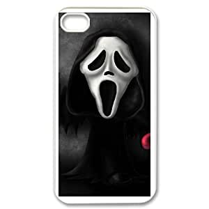 iphone4 4s White Scream phone case Christmas Gifts&Gift Attractive Phone Case HLN5A0223666