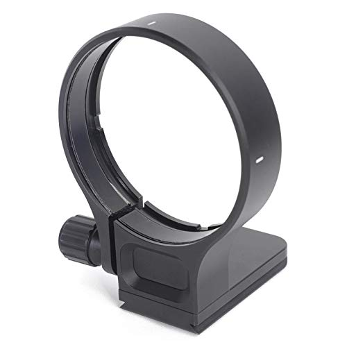 Collar Swiss - iShoot Improved CNC Machined Lens Collar Tripod Mount Ring for Sigma 150-600mm f5-6.3 DG OS HSM Contemporary Lens, Built-in ARCA-Swiss Fit Quick Release Plate for Arca Type Tripod Ball Head