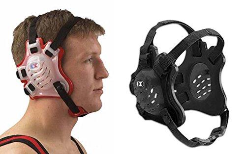 Cliff Keen Tornado Wrestling Headgear - Color: Black/Black/Black]()