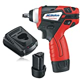 """AcDelco 3/8"""" Power Impact Wrench Cordless Li-ion 12V Max Compact Tool kit with Charger, 2 Batteries, and Carrying Case, G12 Series – ARI12104 For Sale"""