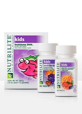 Nutrilite Healthy Kids Combo – Fruit Punch Flavor