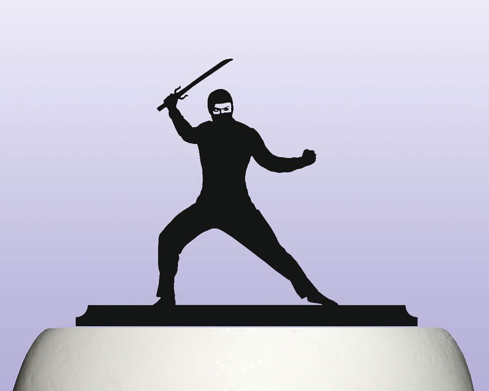 Acrylic Childrens Male Ninja Warrior Birthday ...