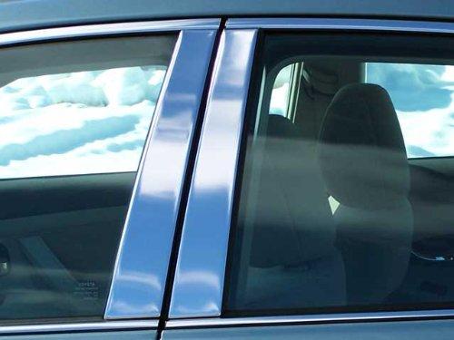 QAA FITS Camry 2007-2011 Toyota (4 Pc: Stainless Steel Pillar Post Trim Kit, 4-Door) PP27130 (Toyota Camry Pillar)