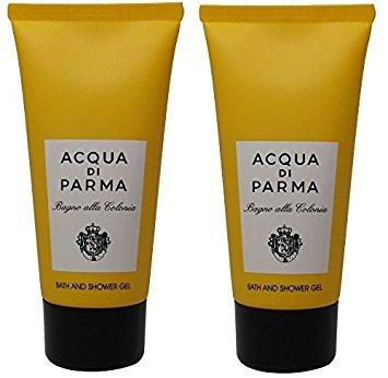 - Acqua Di Parma Colonia Bath & Shower Gel lot of 2 each 2.5oz Bottles. Total of 5oz