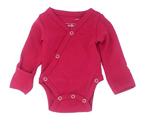 lovedbaby-unisex-baby-organic-cotton-kimono-bodysuit-3-6-months-magenta