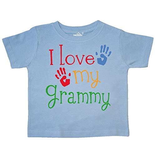 inktastic - I Love My Grammy Toddler T-Shirt 4T Light Blue 10d33