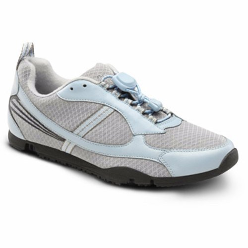 Dr. Comfort Womens Sandy Light Blue Flex Oa Sportschoenen