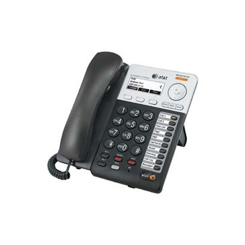 AT&T Synapse SB67025 IP Phone - Wired/Wireless - Wall Mountable, Desktop - Charcoal, Silver Desktop Wireless Ip Phone