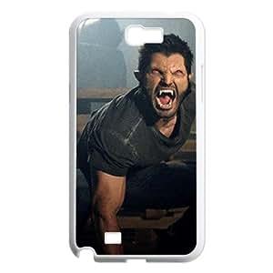 YYCASE Diy Phone Case Teen Wolf Pattern Hard Case For Samsung Galaxy Note 2 N7100
