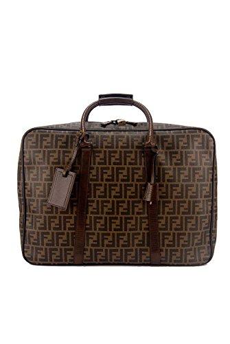 Fendi Zucca Logo Carry On Overnight Luggage Suitcase [Misc.]
