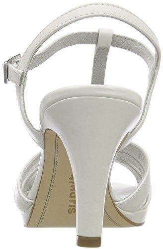 Cinturino Caviglia Con Alla 28009 Sandali white Donna Tamaris Bianco qZHptw