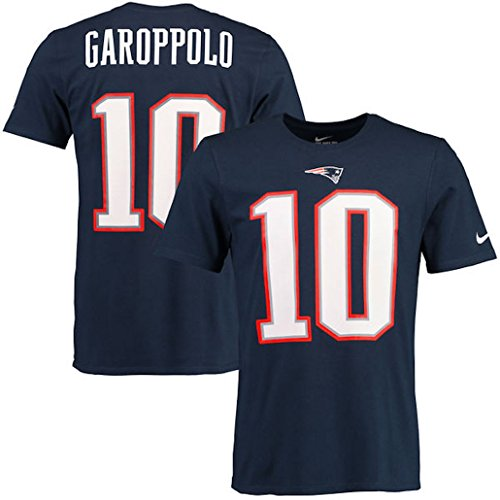Jimmy Garoppolo New England Patriots Nike Player Pride Name   Number T Shirt  X Large