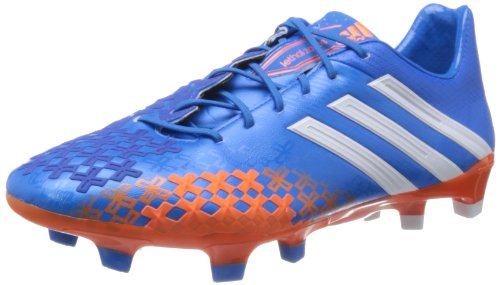 Adidas - Predator Lz Trx Fg, Scarpa Da Calcetto da uomo, Blu (pride blue f13/orange/running white), blue