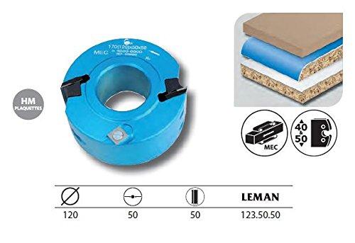 Leman–Werkzeuggürtelset mit Profiler/feuillurer Diam. 120mm AL 50HT. 50mm–123.50.50